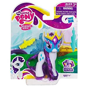 My Little Pony Crystal Princess Celebration: Rarity With Mask