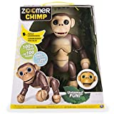 Electronics Features Best Deals - Electronic Pet by Zoomer Features Interactive Chimp with Voice Command, Movement and Sensors, Great Addition for Child's Learning Development