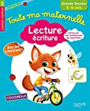 Toute Ma Maternelle - Lecture Écriture Grande Section 5/6 ans (French Edition)