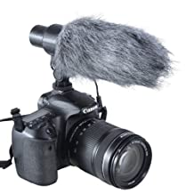 Aputure V-Mic D1 Directional Condenser Shotgun Microphone for Canon Nikon Sony DSLRs and Camcorders