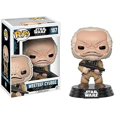 Funko Pop Star Wars: Rogue One - Weeteef Cyubee Toy Figure: Toys & Games