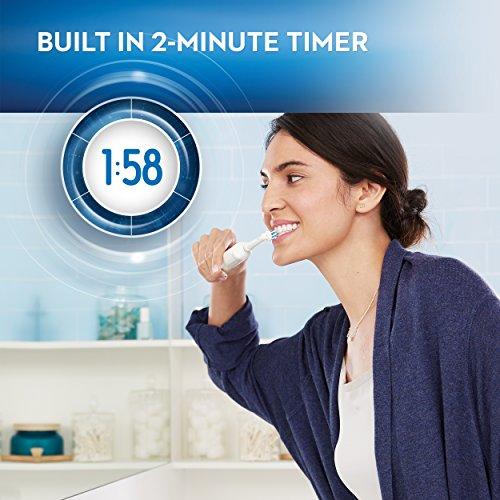 Oral-B White Pro 1000 Power Rechargeable Electric Toothbrush, Powered by Braun by Oral-B (Image #8)