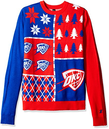 Oklahoma city thunder ugly sweater