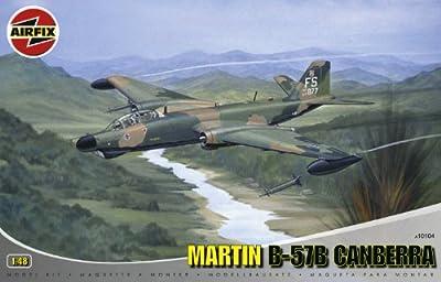 Airfix A10104 1:48 Scale Martin B-57B Canberra - B-57B, RB-57E, RB-57G Military Aircraft Classic Kit Series 10