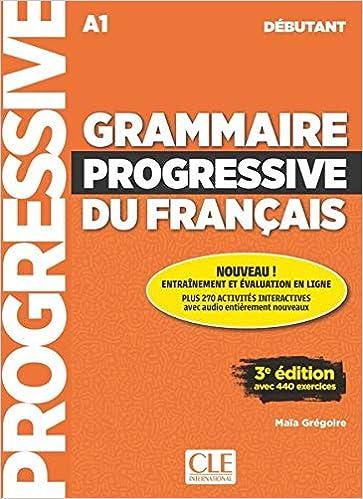Grammaire Progressive Du Francais Niveau Debutant Buch