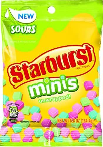 Starburst Minis Sours