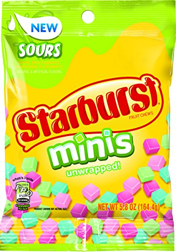 Starburst Minis Candy bag, 5.8 Ounce (Pack of 12) by Starburst