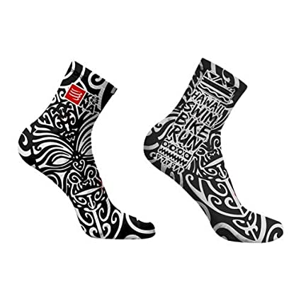 CALCETINES COMPRESSPORT V3.0 RUN HIGH KONA 17 NEGRO Talla 3