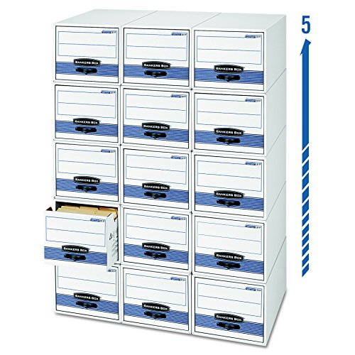 Bankers Box Stor/Drawer Steel Plus Storage Drawers,  Letter, 6 Pack (00311) (Storage Bankers Box Drawer)