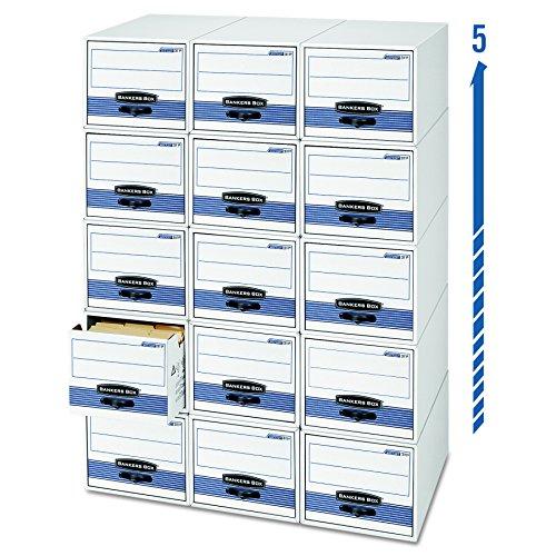 Bankers Box Stor/Drawer Steel Plus Storage Drawers,  Letter, 6 Pack (00311) (Bankers Box Letter Storage)