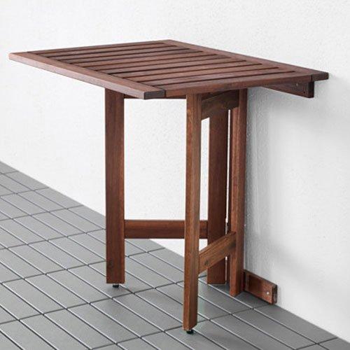 Ikea Dubai Kitchen Accessories: Ikea Applaro Wall Folding Drop Leaft Gateleg Table Brown
