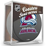 Sher-Wood Hockey NHL Colorado Avalanche Official Coaster