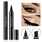 Shake Beauty Eyeliner Stamp - Vogue Effects Black, Waterproof Make Up, Smudgeproof, Winged