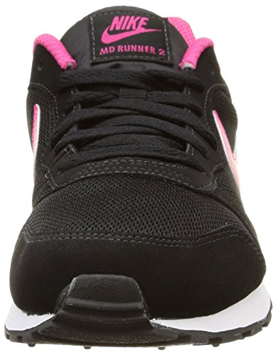 MD Pink Ginnastica e Nike Scarpe 006 2 Vivid da Nero GS Ragazze White Runner Bambine Black BxfqS