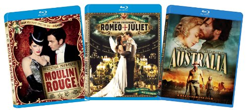 Baz Luhrmann Blu-ray Collection (Moulin Rouge, Romeo & Juliet, Australia)