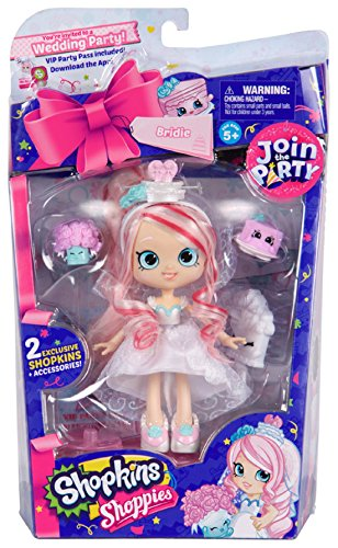 Shopkins Shoppies Party Themed Doll - Bridie