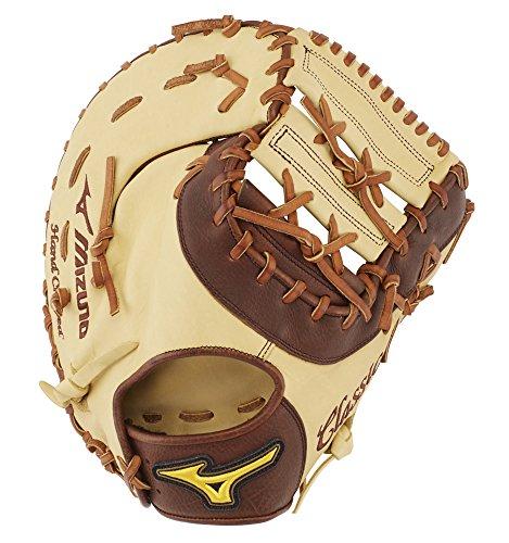 - Mizuno GXF28S3 Classic Pro Soft Baseball First Base Mitts, 12.5