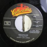 Jerry Lee Lewis 45 RPM Breathless / Raunchy