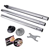 Dance Pole Full Kit Fun Portable Stripper Exercise Fitness Club Party Dancing Silver Steel