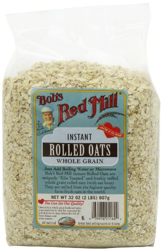 Bob's Red Mill Instant Rolled Oats, 32-ounce Pack of 4