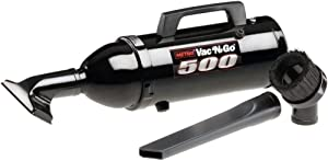 MetroVac 105-105275 Model VM4B500 Vac N Go Hi Performance Hand Vacuum, .75 HP Motor, 4.5 Amps, 500 Watts, 70 CFM Airflow, Sturdy All Steel Construction, Black Powder Coat Finish