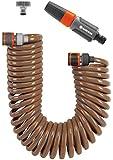 Gardena 464826 Kit d'arrosage avec tuyau flexible 15 m, Orange