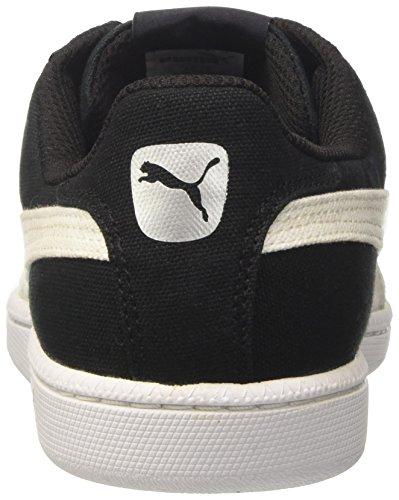 CV Puma Puma Homme Noir puma Basses Smash Sneakers 14 White Black 5qwarOHq