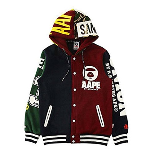 KPOP BTS Cap Hoodie Sweater Bangtan Boys Unisex Hoody JIMIN JIN SUGA Pullover(muti, L)