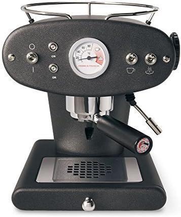 Francis Francis for Illy X1 Ground Coffee Machine, Black by Francis Francis: Amazon.es: Hogar