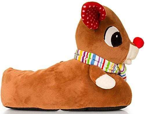 femmes pour Boutique Loungeable Rudolph animakes The Reindeer pantouffles confortables Nouvelles 4xYXaqXO
