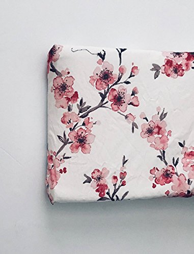 Changing Pad Cover - Pink Cherry Blossom