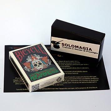 SOLOMAGIA Bicycle - Tattoo - Tarjeta Juegos - Trucos Magia y la ...