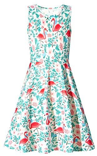 Kid Girls Dresses - Sundress for Girls Size 7-8,Fashoin Little