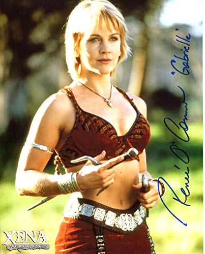 Renée O'Connor Signed/Autographed Xena: Warrior Princess 8x10 Glossy Photo as Gabrielle. Includes Official Pix Certification and Cataloged Number with COA. Entertainment Autograph Original. Xena