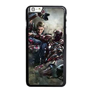 Custom made Case,Captain America 3 Civil War PC Plastic Cell Phone Case for iPhone 6 6S 4.7 inch,Black Case With Screen Protector (Tempered Glass) Free S-6637672