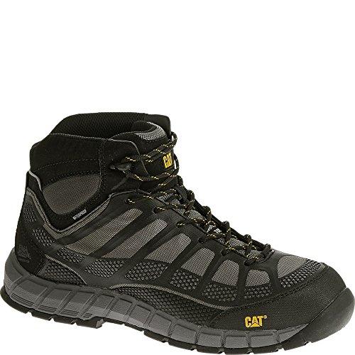 Caterpillar Men's Streamline Mid WP Gray Boot 9 W