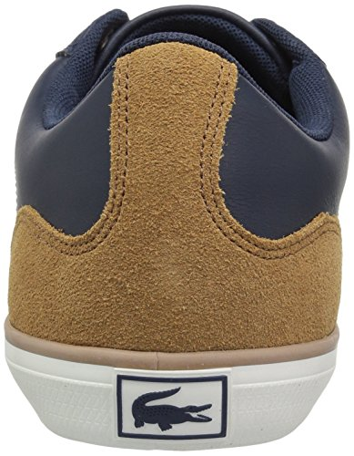 ae0aa8d3e00 Lacoste Lerond Sneakers Hommes Nvy   Ltbrw Cuir - architectes ...