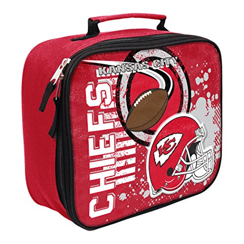 The Northwest Company Officially Licensed NFL Kansas City Chiefs Unisex Accelerator Lunch Kit, (Kansas City Chiefs Lunch Box)