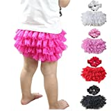October Elf Baby Girl's Briefs Lace Ruffle
