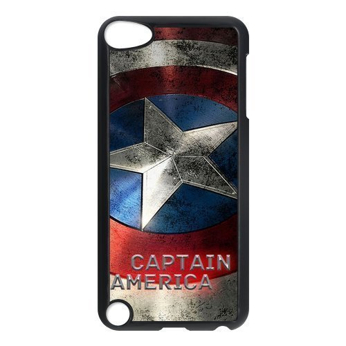 Marvel Avengers Captain America Shield Ipod Touch 5th Case Cover