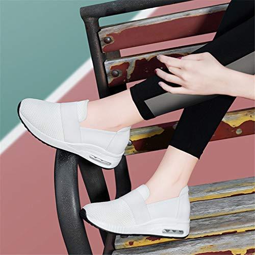 Novità Corsa Sneakers B Da Primavera Donna Cuscino Yan Pelle Trekking E Mocassini In Outdoor Running Sportive on Eleganti Slip Scarpe PTd1nxqw