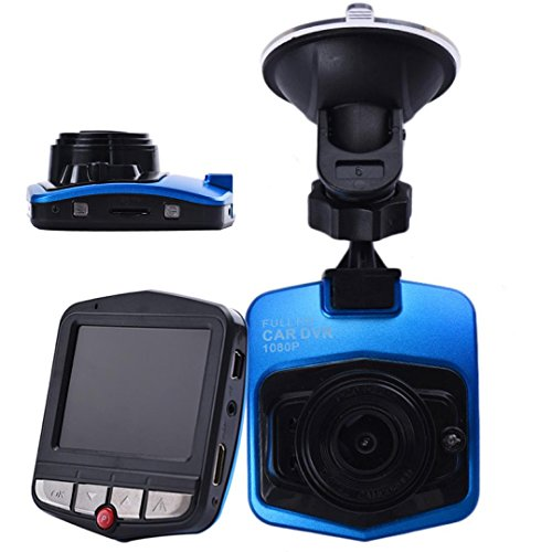 1080P 2.4inch Car DVR Camera Video Recorder (Blue) - 7