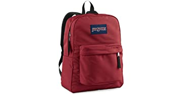 Amazon.com: Jansport Superbreak Backpack: Viking Red: Sports ...