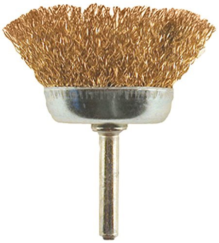 Carded Enkay 1843-C  3-Inch Wire Cup Brush 1//4-Inch Shank Coarse
