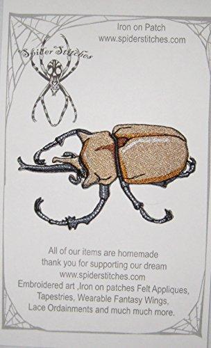 - Rhino Elephant Beetle megasoma elephas insect Iron on Patch