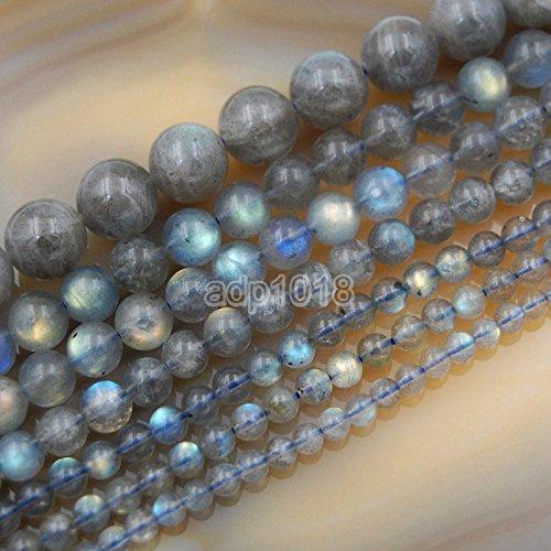 Wholesale Smooth Natural Gemstone Round Loose Beads 15