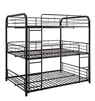 Acme Furniture Cairo Triple Bunk Bed by ACME Furniture
