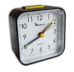 Travel Alarm Clock - No Bells, No Whistl...