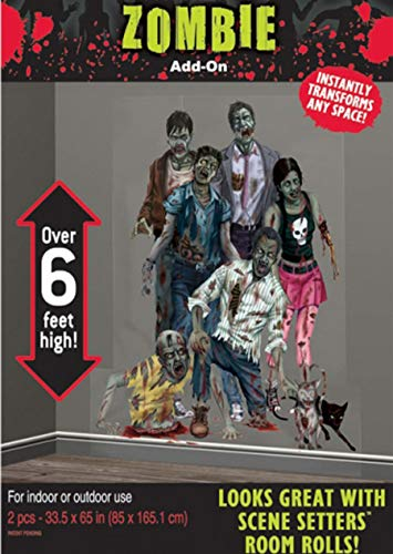 Large Zombie Scene Setter Add On ()