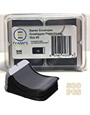 500 Pack Dental X-Ray Film Disposable Barrier Envelopes Size #2 for Phosphorus Plates by Tyann's Essentials